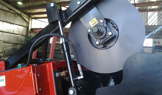 Top-Feed Roller/Belt - Hydraulic Lift